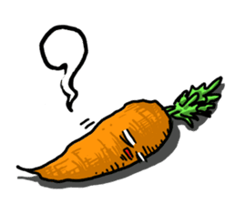Angry vegetables sticker #624237