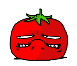 Angry vegetables sticker #624240