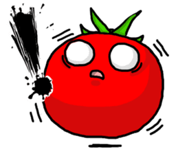 Angry vegetables sticker #624241