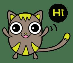 GoGoCat(English) sticker #624922