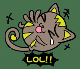 GoGoCat(English) sticker #624923