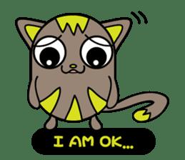 GoGoCat(English) sticker #624924