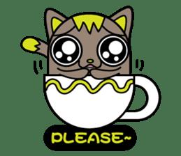 GoGoCat(English) sticker #624932