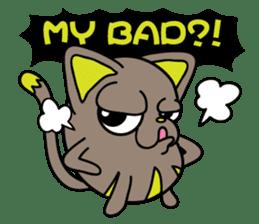 GoGoCat(English) sticker #624940