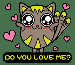 GoGoCat(English) sticker #624942