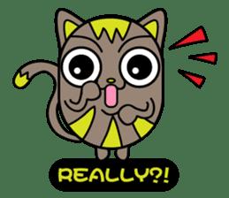 GoGoCat(English) sticker #624948