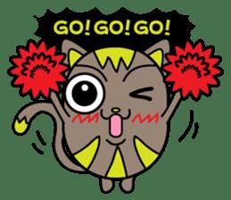 GoGoCat(English) sticker #624950