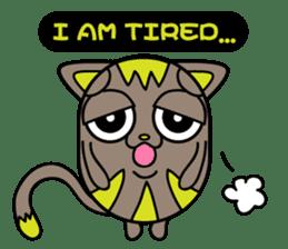 GoGoCat(English) sticker #624953