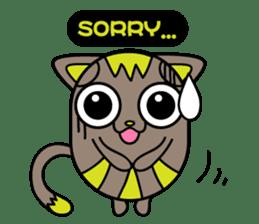 GoGoCat(English) sticker #624954
