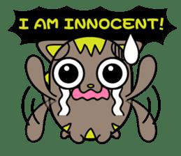 GoGoCat(English) sticker #624956