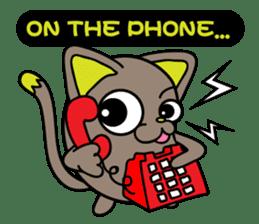 GoGoCat(English) sticker #624957