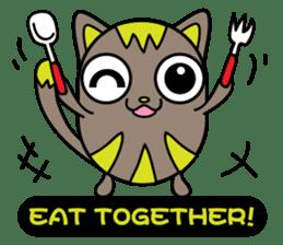 GoGoCat(English) sticker #624958