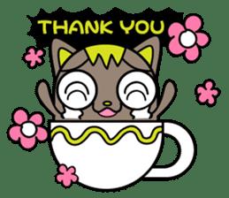 GoGoCat(English) sticker #624960