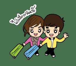 Cute Couple EP.2 Go&Nana sticker #624976