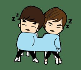 Cute Couple EP.2 Go&Nana sticker #624995