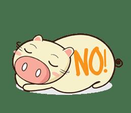 Ood Ood joyful pig sticker #625110