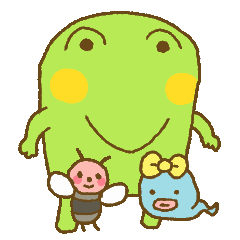 Pals and frog