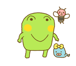 Pals and frog sticker #625442