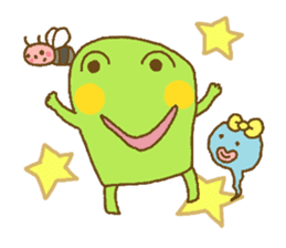 Pals and frog sticker #625443