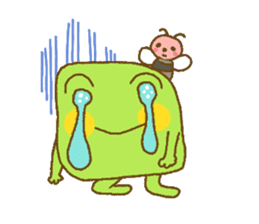 Pals and frog sticker #625444