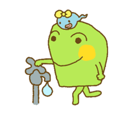 Pals and frog sticker #625445