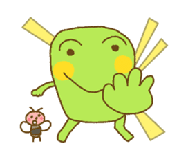 Pals and frog sticker #625446
