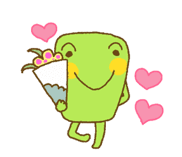 Pals and frog sticker #625448