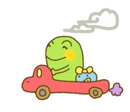 Pals and frog sticker #625453