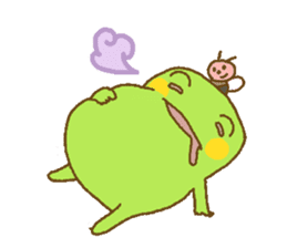 Pals and frog sticker #625454