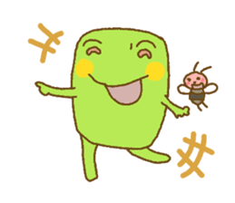 Pals and frog sticker #625457