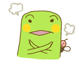 Pals and frog sticker #625459