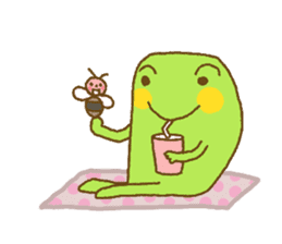 Pals and frog sticker #625461