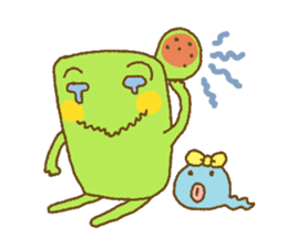 Pals and frog sticker #625462