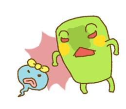 Pals and frog sticker #625465