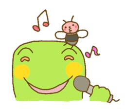 Pals and frog sticker #625466