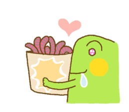 Pals and frog sticker #625467