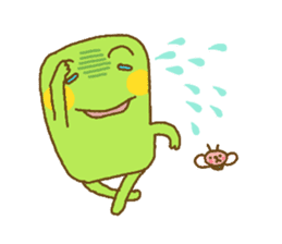 Pals and frog sticker #625468