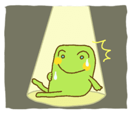 Pals and frog sticker #625469