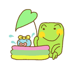 Pals and frog sticker #625470