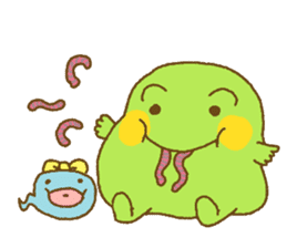 Pals and frog sticker #625474