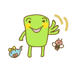 Pals and frog sticker #625481
