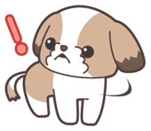 I like dogs-Shih Tzu!! sticker #626806
