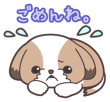 I like dogs-Shih Tzu!! sticker #626815