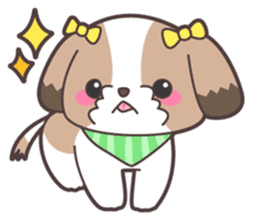I like dogs-Shih Tzu!! sticker #626824