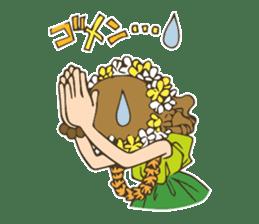 Hulagirl Mahalo sticker #627083