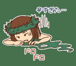 Hulagirl Mahalo sticker #627118