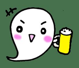 cute ghost sticker #627505