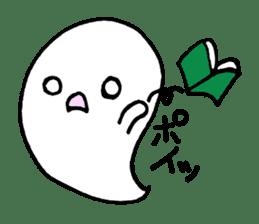 cute ghost sticker #627516