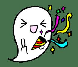 cute ghost sticker #627517