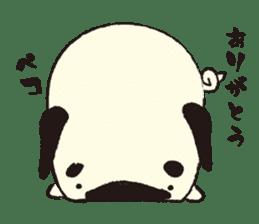 Maro Pug sticker #627723